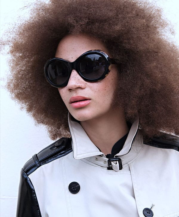 Black Audrey Sunglasses from Oliver Goldsmith